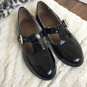 Topshop patent leather Mary Janes